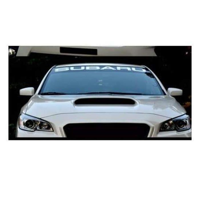 Subaru Windshield Banner Decal Sticker