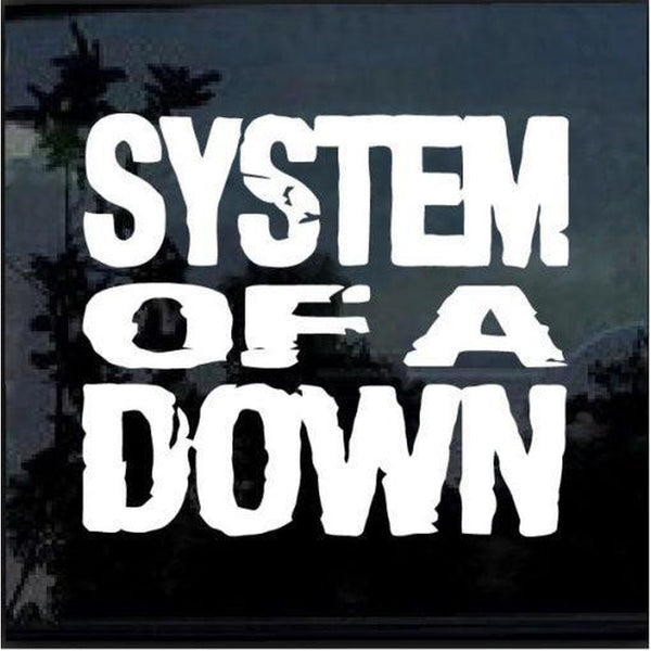 System of Down – Band Stickers