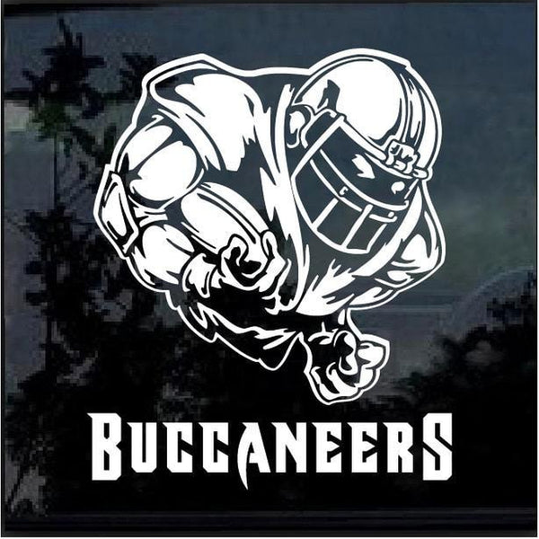 Tampa Bay Buccaneers Football player Window Decal Sticker