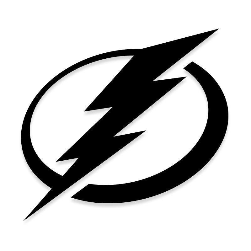 Tampa Bay Lightning NHL Bolt Decal Stickers
