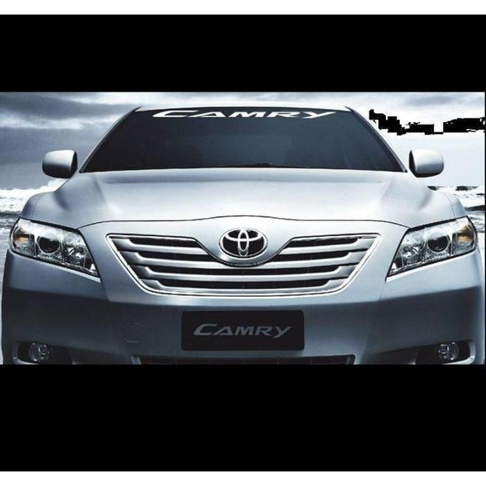 Toyota Camry Windshield Banner Decal Sticker