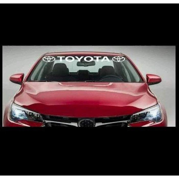 Toyota Windshield Banner Decal Sticker