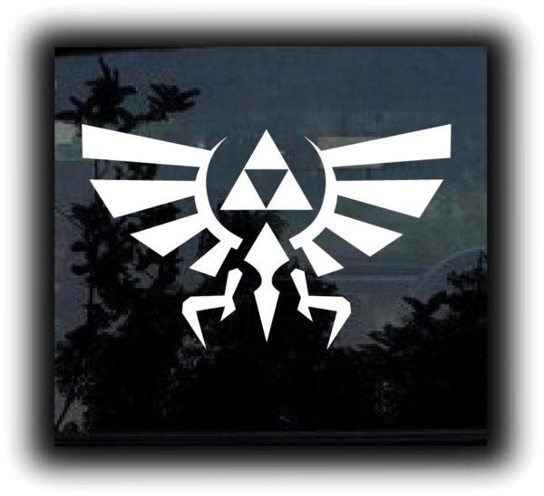 Tri Force Legend Window Decal Sticker