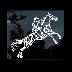 Tribal Horse Window Decal Stickers