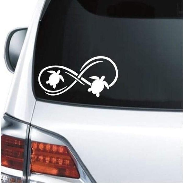 Turtle Decal – Turtle Infinity Sticker
