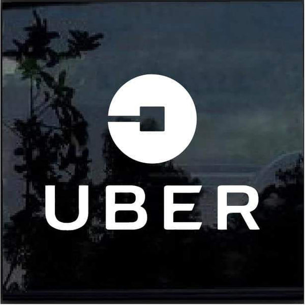 Uber Ride Service Window Decal Sticker D1