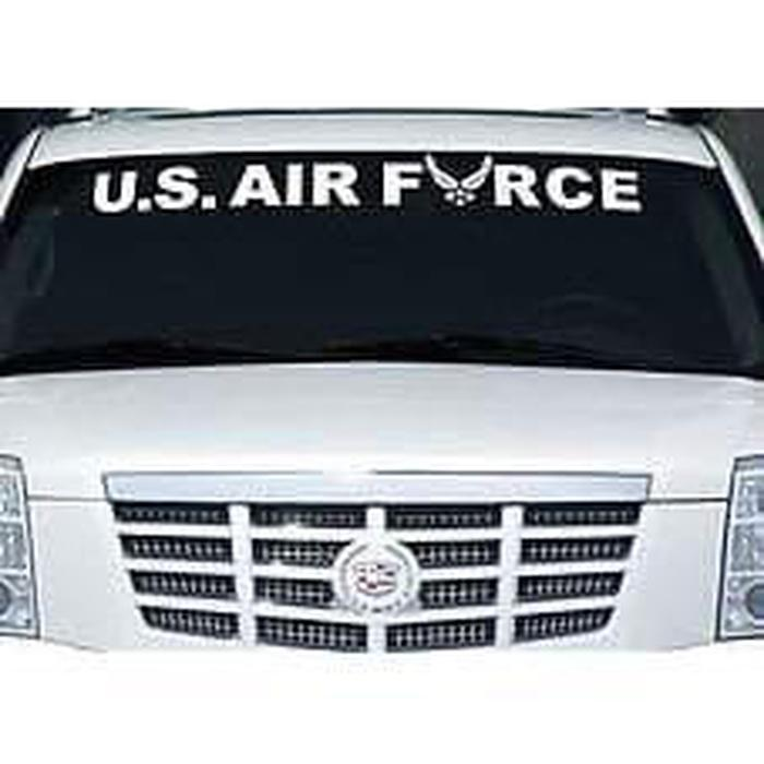 US Air force Window Windshield Banner Decal Sticker A2