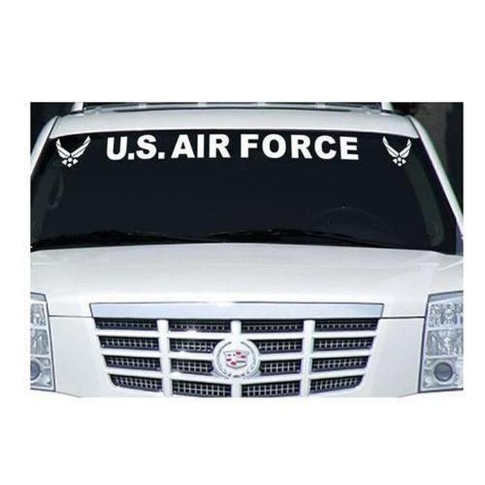 US Air force Window Windshield Banner Decal Sticker