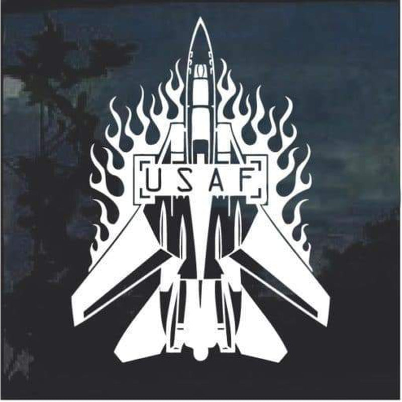 USAF Air Force Airplane Decal Sticker
