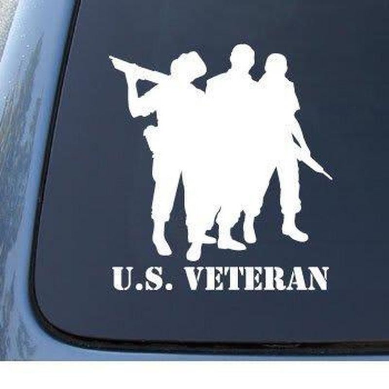Veteran Military Window Decal Stickers