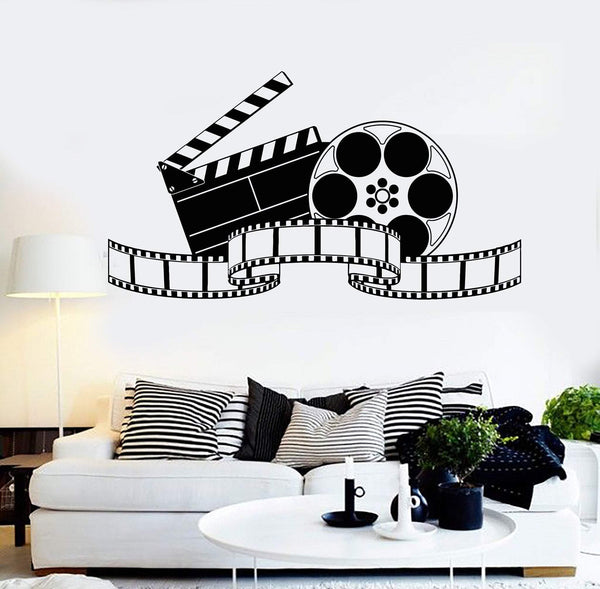 Vinyl Wall Decal Filming Art Cinema Film Movie Stickers Mural Unique