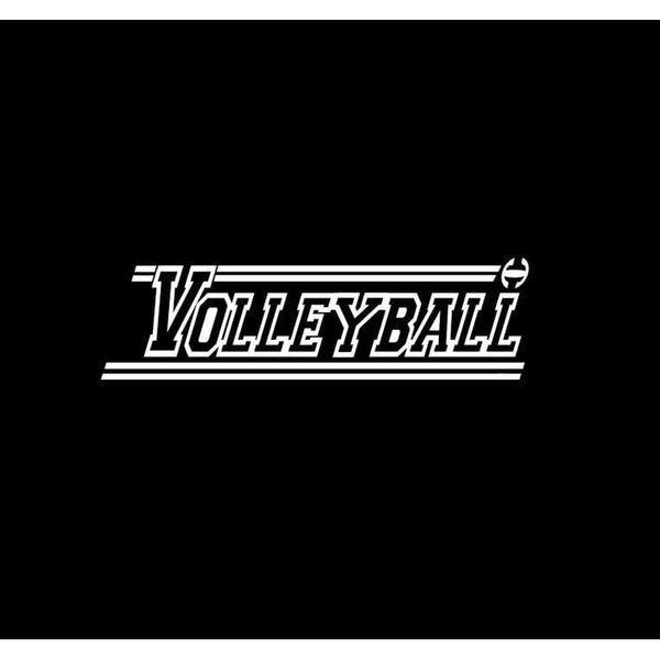 Volleyball Window Decal Sticker