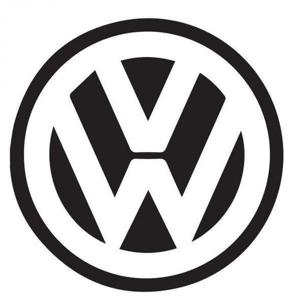 Vw Logo Decal Sticker