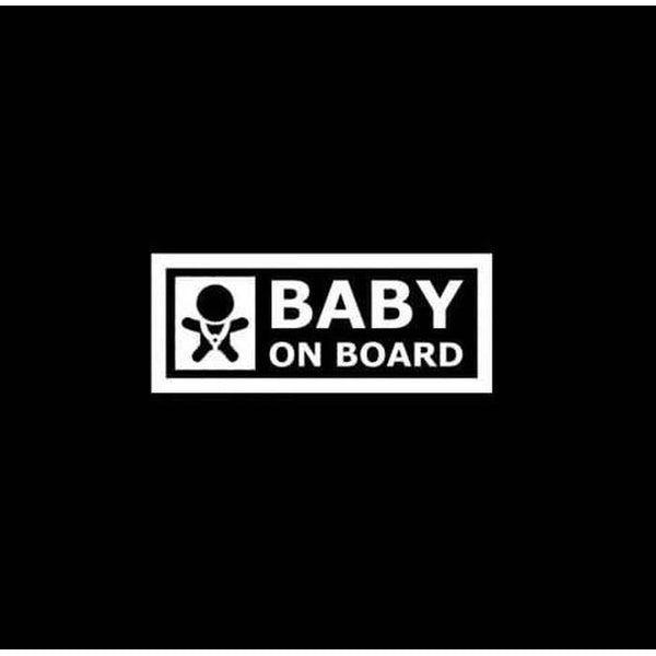 Warning Baby – Baby on Board Sticker