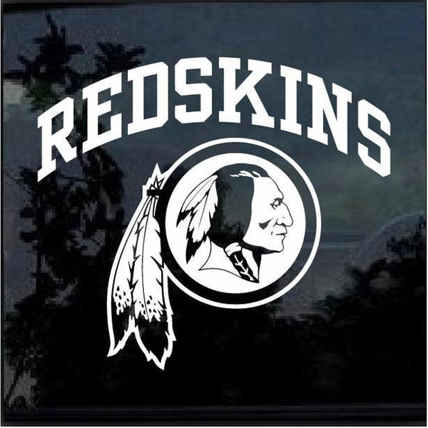 Washington Redskins Window Decal Sticker