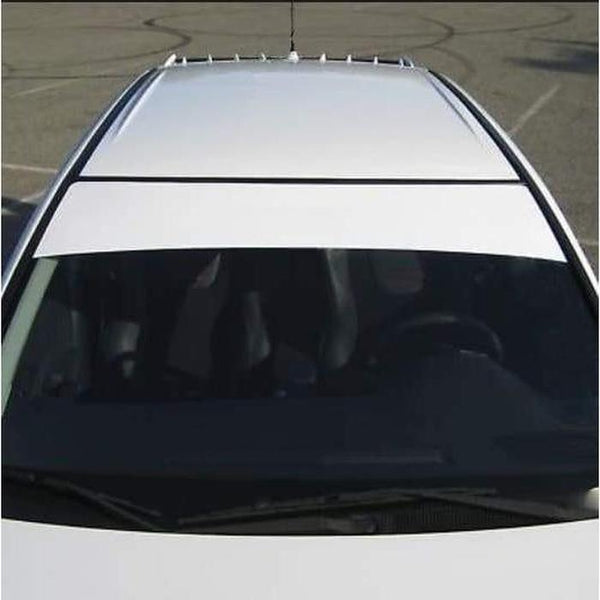 Windshield Banner Blank Decal sticker