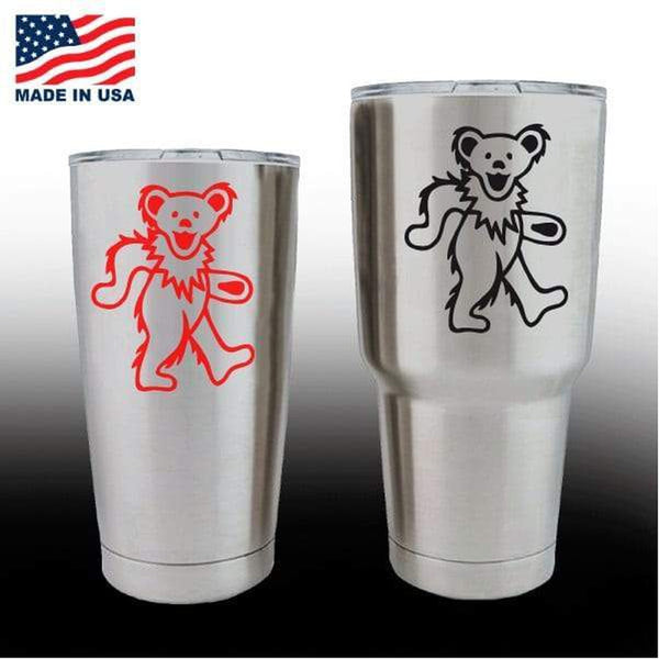Yeti Decals – Cup Stickers – Grateful Dead Dancing Bear