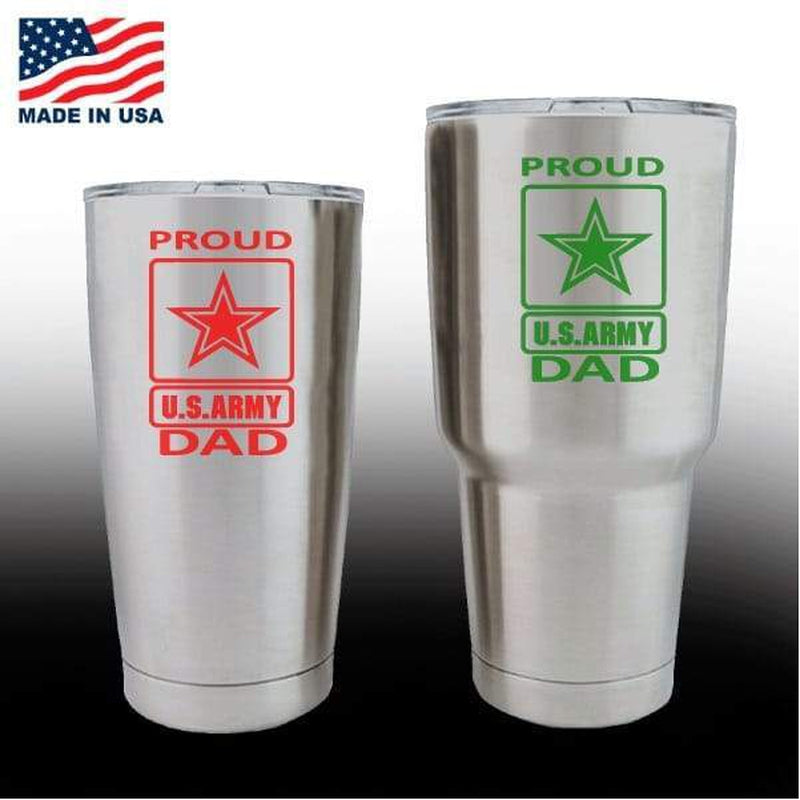 Yeti Decals – Cup Stickers – Proud Army Dad