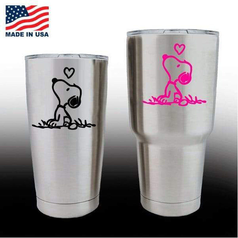 Yeti Decals – Cup Stickers – Snoopy