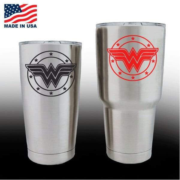 Yeti Decals – Cup Stickers – Wonder Woman