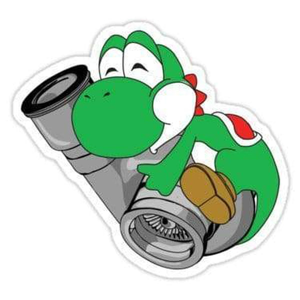 Yoshi Turbo Decal Sticker