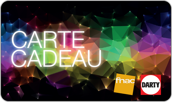 Carte Cadeau Fnac-Darty - FRA