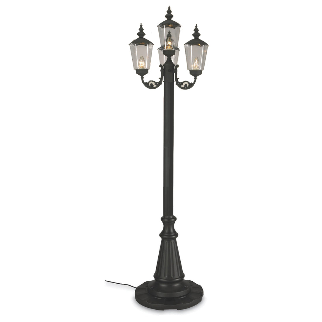 Cambridge 00440 Four Lantern Patio Lamp, Park Style