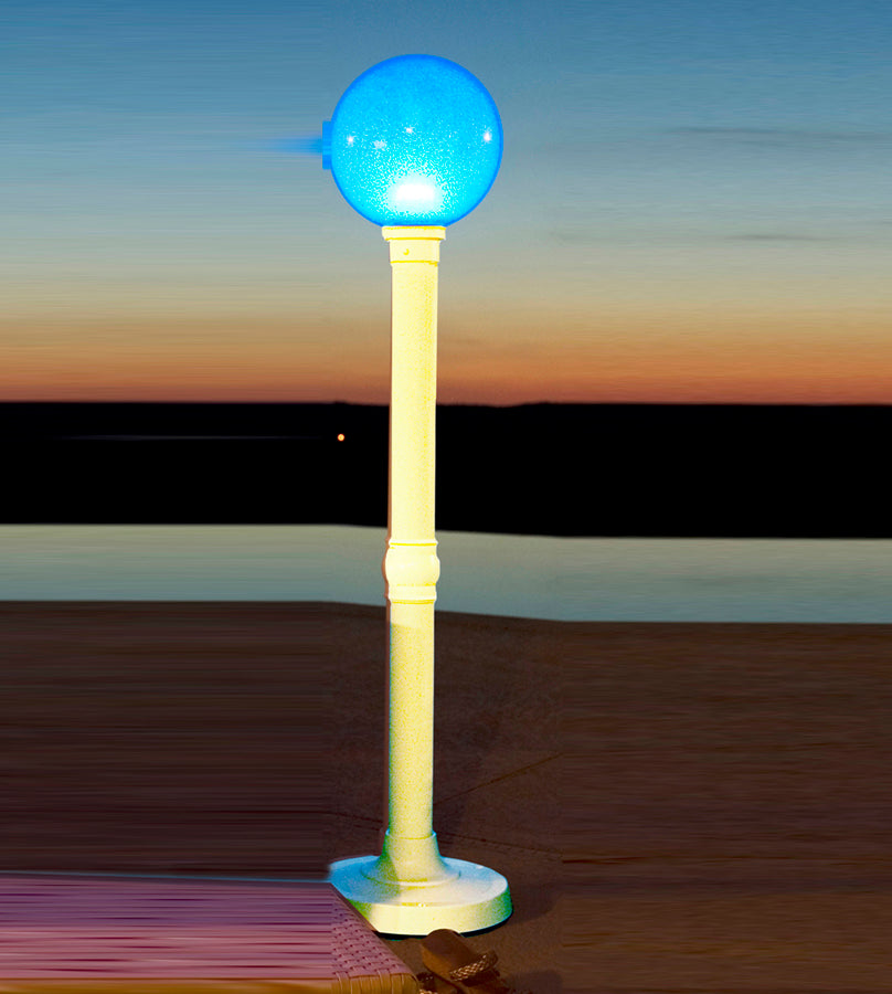 "59"" Portable Color Changing  LED Floor Lamp 37711"