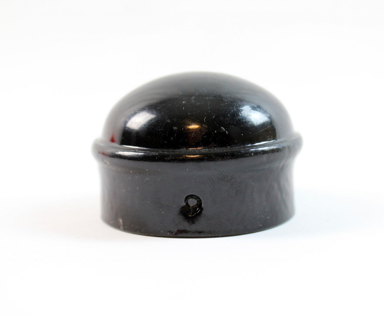 "Dome Cap - Decorative for 1 5/8"" Post - Black"
