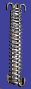 Tension Spring for Hi Tensile Wire