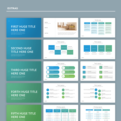 Modern X - Presentation Template v4.0 (Special Offer)