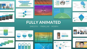 Multipurpose X - Powerpoint Presentation Template v.3.1 (Fully Animated)