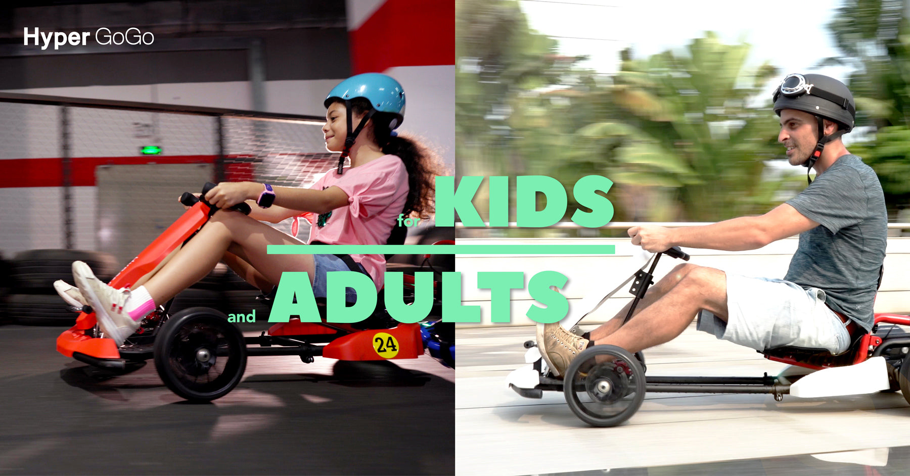 Go Karts for Kids and Adult