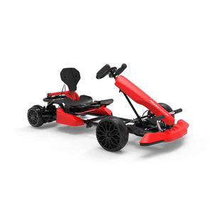 "6.5"" Twodots Hoverboard Gokart Combo - Red Go Kart with 6.5"" Twodots Hoverboard Bundle"