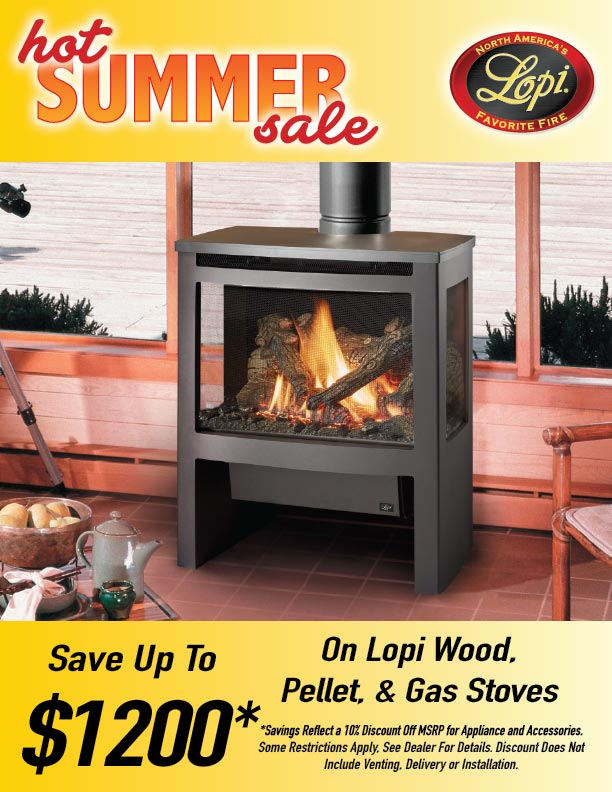 Hot Summer Sale - Save Up To $1200 on Lopi Products