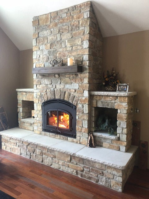 Quadra Fire  Wood Fireplace 7100 - Showroom Model