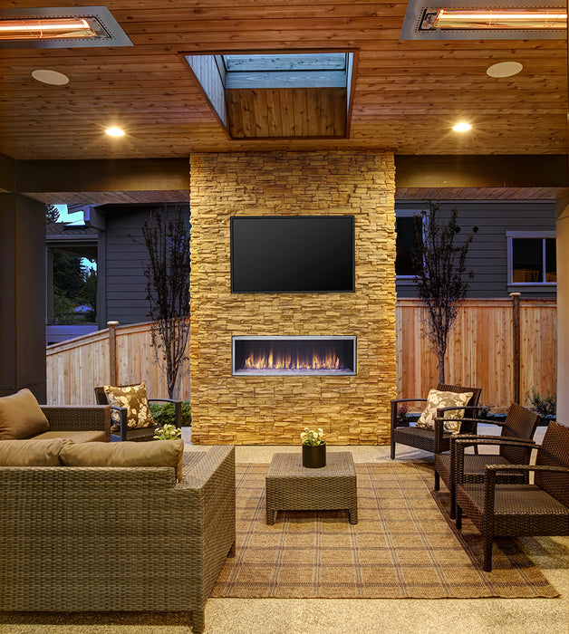 Heat & Glo Lanai Gas Fireplace - Outdoor