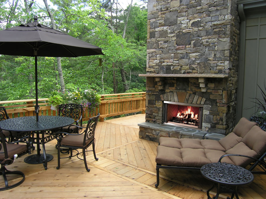 Heat & Glo Montana Outdoor Wood Fireplace