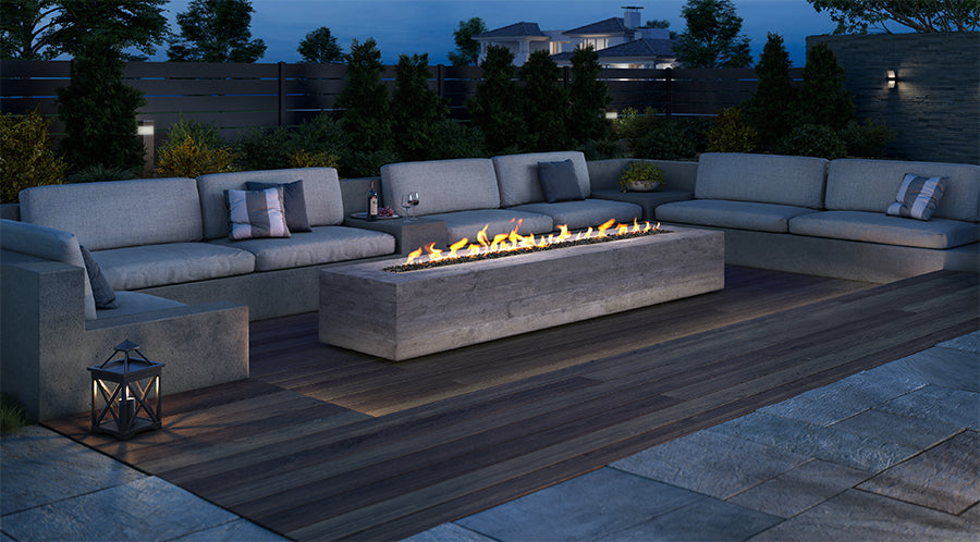 Heat & Glo Plaza Gas Firepit