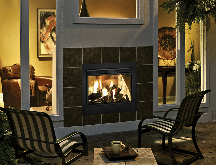 Heat & Glo Twilight II Indoor - Outdoor Gas Fireplace