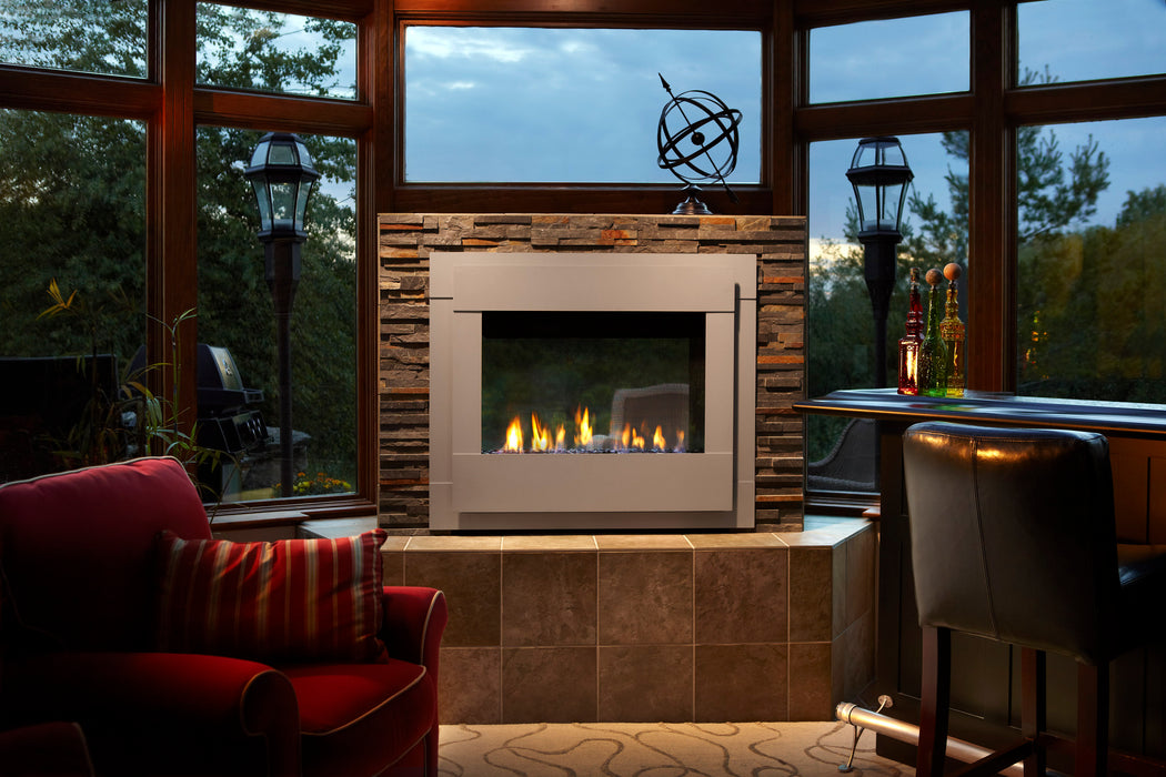 Heat & Glo Twilight Modern Indoor - Outdoor Gas Fireplace