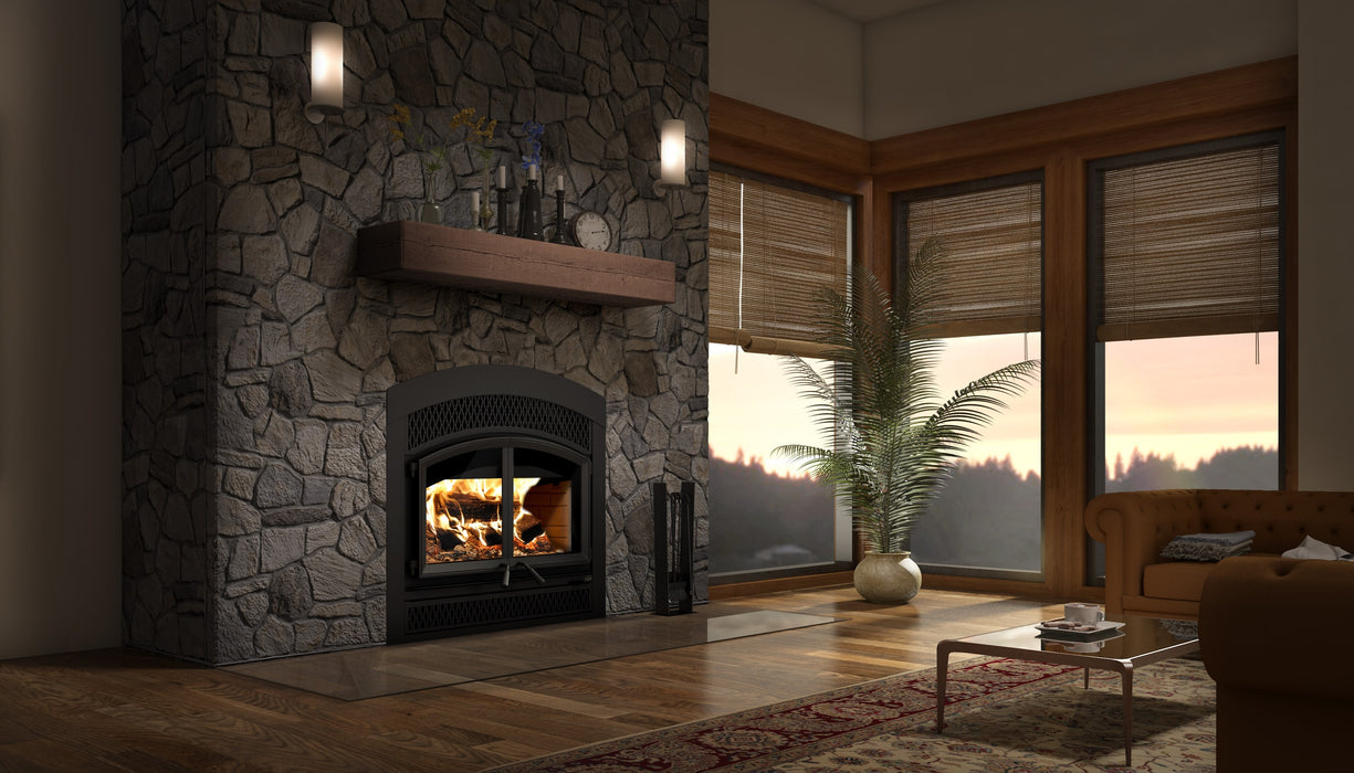 Valcourt FP15A Waterloo Arched High Eff. Wood Fireplace