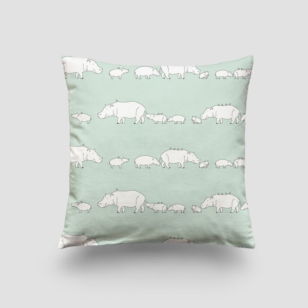 large cushion hippo mint pod