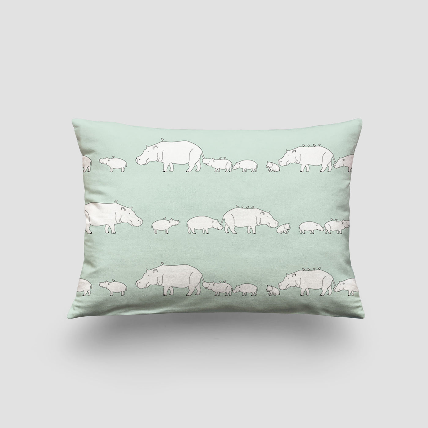small cushion hippo mint pod
