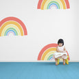 rainbow wallpaper - large scale