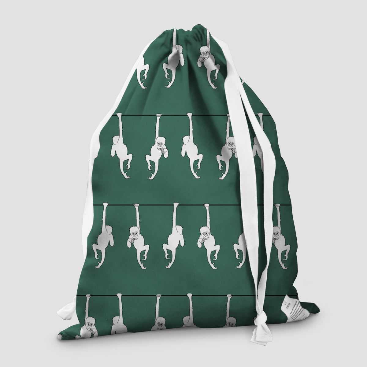 laundry bag orangutan rainforest green