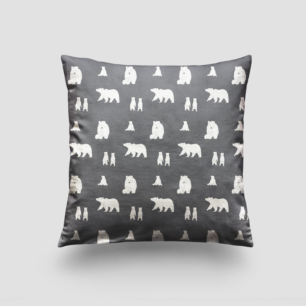 large cushion bear slate