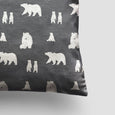 small cushion bear slate