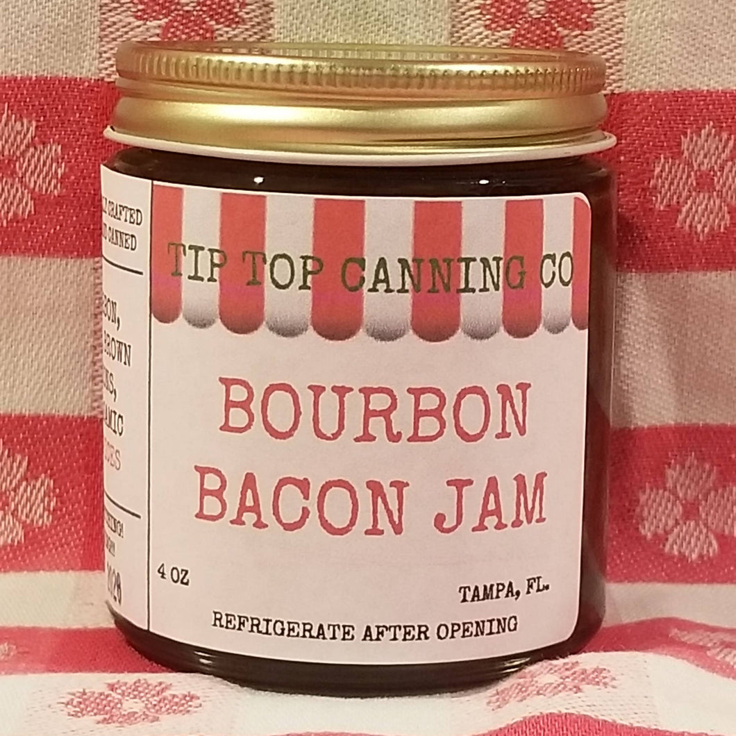 Tip Top Canning Spicy Bourbon Bacon Jam