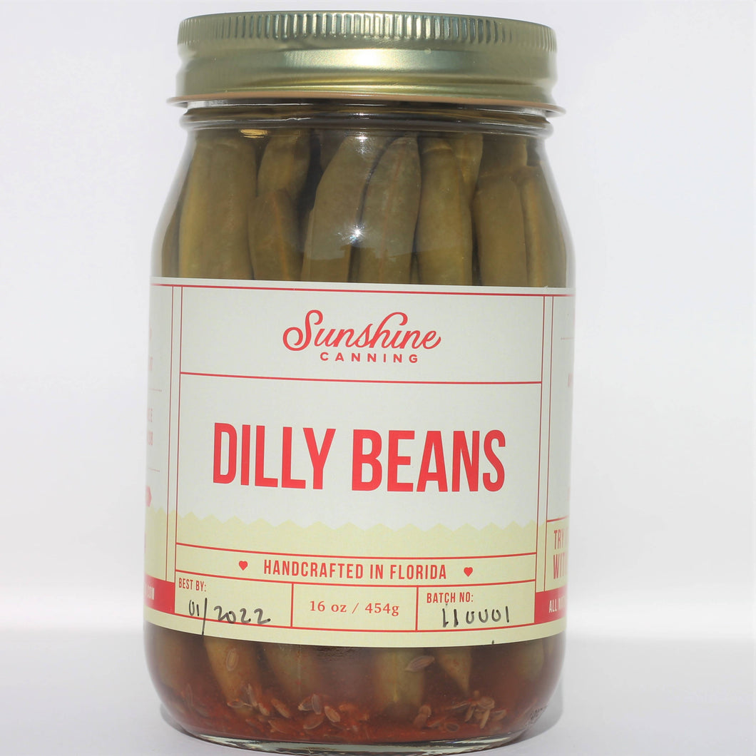 Sunshine Canning Dilly Beans